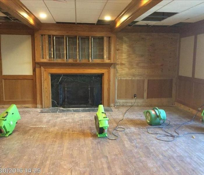 Commercial Water Damage in Lawrence, KS After