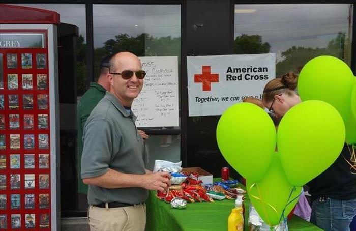 RED CROSS FUNDRAISER COOKOUT 2015